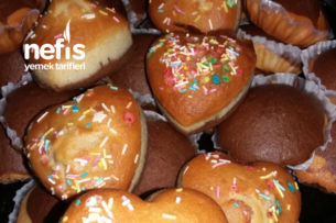 Pasta Şekerli Muffin Tarifi