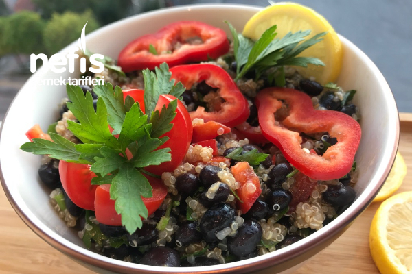Siyah Fasulye Salatası