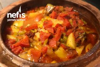 Patatesli Tavuk Pirzola (Güveçte) Tarifi