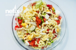 Pratik Proteinli Makarna Tarifi