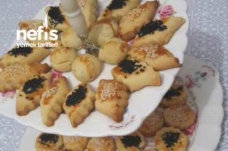 Tuzlu Pastane Kurabiyesi (Bayatlamayan) Tarifi