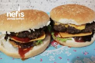 Ballı Soğanlı Nefis Hamburger Tarifi