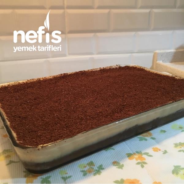 Kahveli Çikolatalı Pasta (Borcamda)