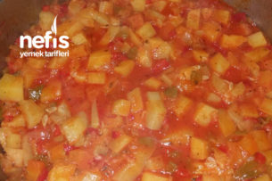 Nefis Kabaklı Patatesli Yemek Tarifi