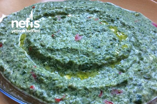 Ezme Semiz Otu Salatası Tarifi