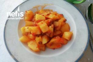 Kıymalı Patates sote Tarifi