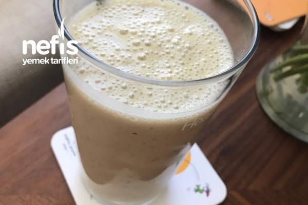 Muzlu Süt (Vitamin Dolu Harika Lezzet) Tarifi