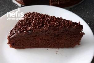 Yoğun Çikolatalı Soslu Kek Tarifi