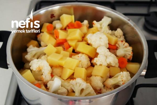 Karnabahar Yemeği Yapılışı (videolu)