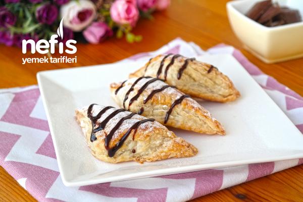 Çikolatalı Milföy Tarifi (videolu)