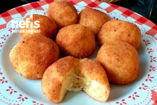 Peynirli Patates Topları Tarifi