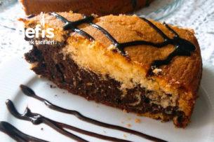 Kakaolu Portakallı Sünger Kek Tarifi