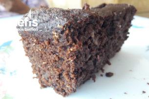Şekersiz Glutensiz Islak Kek Tarifi
