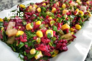 Renkli Bulgur Salatam Tarifi
