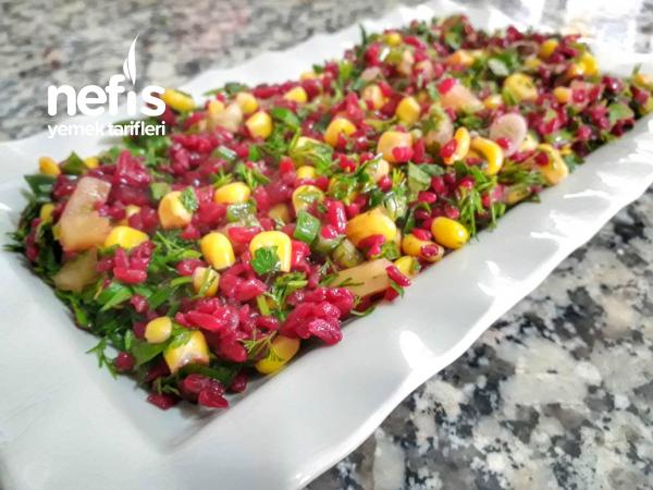 Renkli Bulgur Salatam