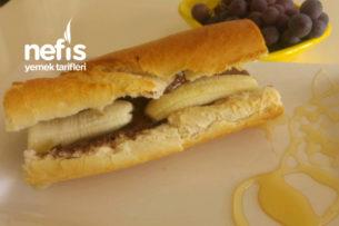 Ekmek Arası Ballı Muz (Muhteşem Lezzeti Kaçırmayın) Tarifi