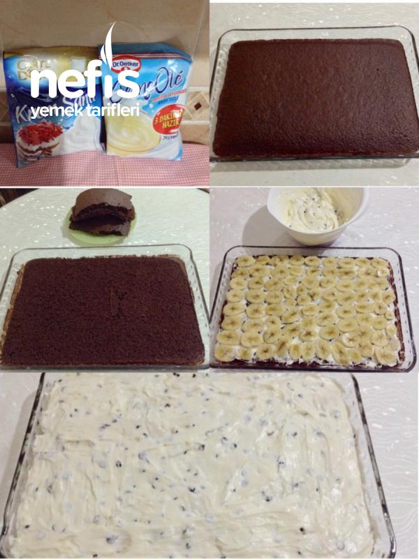En Pratik Porsiyonluk Köstebek Pasta ( Borcamda )