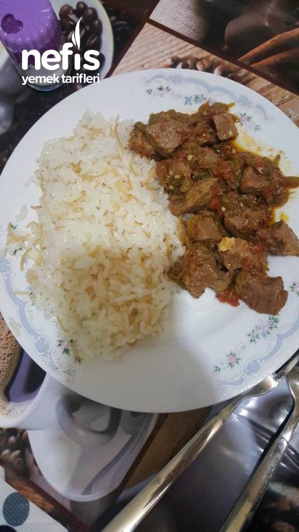 Enfes Tavuk Sulu Pilavım