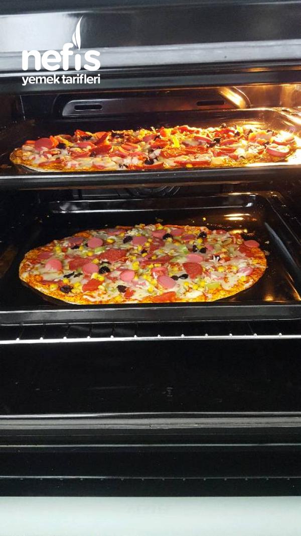 Lavaş Pizza (En Kolay Pizza)