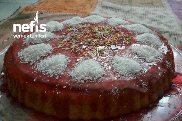 Frambuzlı Tart Kek Tarifi