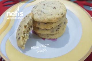 Ay Çekirdekli Keten Tohumlu Cookies Tarifi