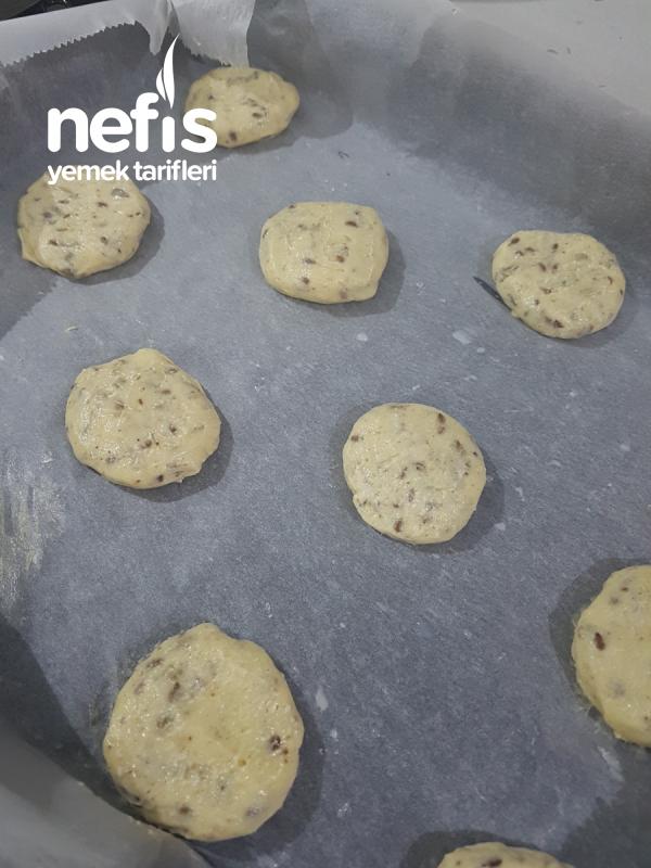 Ayçekirdekli Ketentohumlu Cookies