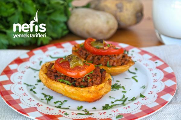 Fırında Patates Karnıyarık (videolu) Tarifi