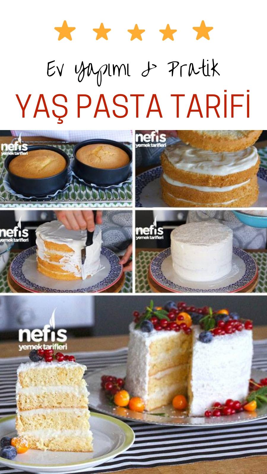 Yaş Pasta Kreması Videosu