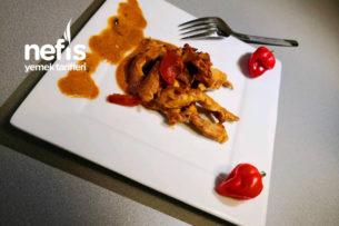 Kremalı Mantarlı Tavuk Göğsü Tarifi