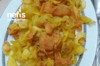Patates Cips  ( 3 Malzemeyle) Tarifi