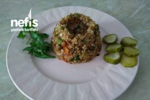 Sebzeli Karabuğday (Greçka) Pilavı Tarifi