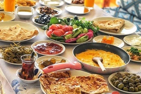 narlıkuyu kayraç tepe köy kahvaltısı