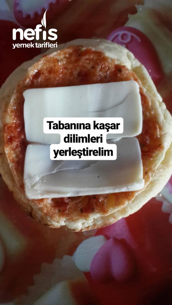 Yumurtalı Bazlama Pizza