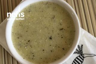 +6 Kabaklı Yoğurt Çorbası Tarifi