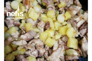 Arpacık Soğanlı Patatesli Tavuk Tarifi
