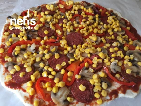 Kolay Pizza Hamuru _Yarım ölçüyle