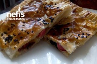Milföy Börek Pizza (Çok Pratik) Tarifi