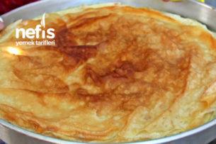 Selanik Karacaova Usulü Sütlü Börek (Sütlü Pide) Tarifi