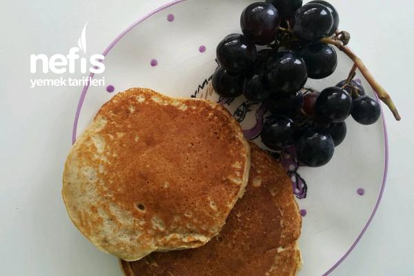 Bebekler İçin Muzlu Cevizli Pancake (+8 Ay) Tarifi