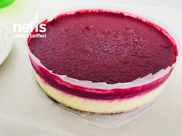 Frambuazlı Cheesecake