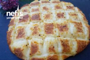 Mozzerella Peynirli Sarımsaklı Pamuk Gibi Yumuşacık Ekmek Tarifi
