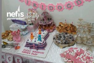 Prensesimin 1. Yaş Doğum Günü Partisi Tarifi