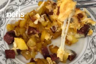 Çift Taraflı Tavada Kaşarlı Patates Tarifi