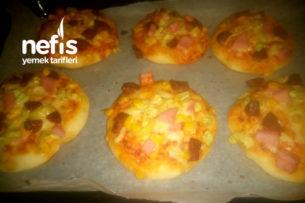 Mini Pizza Poğaçalarım Tarifi