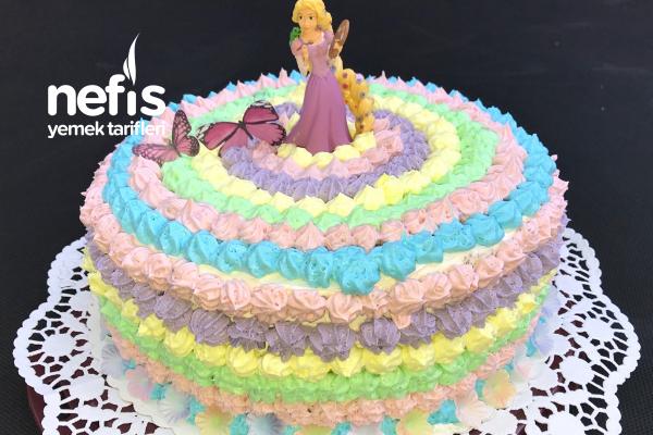 Yaş Pasta  (Doğum Günü Pastası ) Tarifi