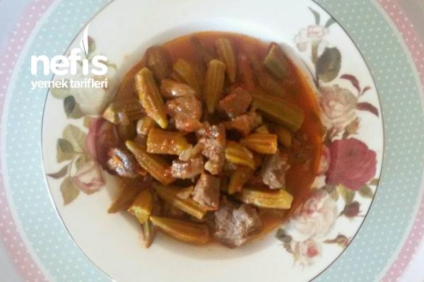 Etli Bamya Yemeği Tarifi