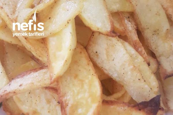 Fırında Az Yağlı Düşük Kalorili Patates Tarifi