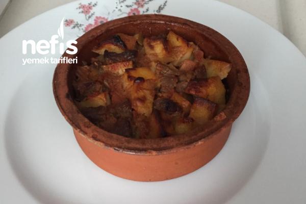 Fırında Et Soteli Patates Güveç Tarifi
