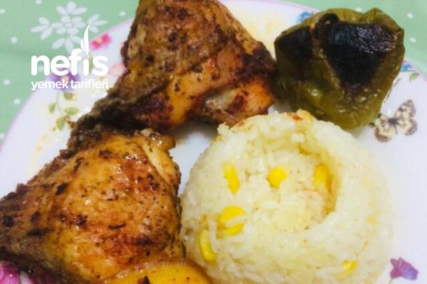 Fırında Tavuk Sarma Tarifi