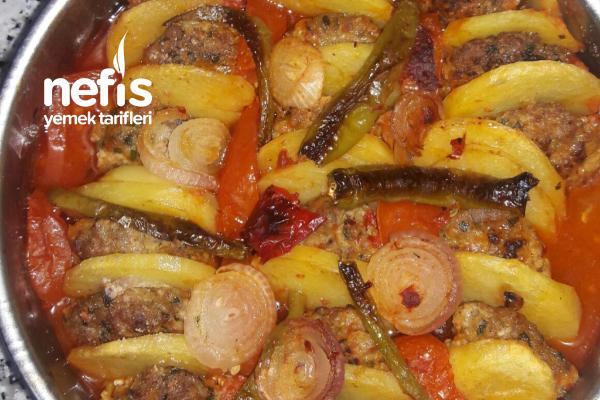 Patatesli Köfte Kebabı Tarifi
